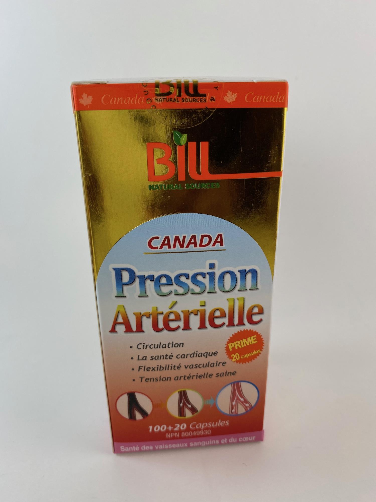 Bill Pression Artérielle - ProMed Pharmacy